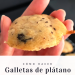 Galletas de plátano y chocolate