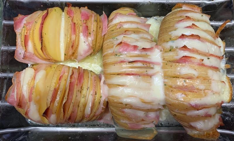 Patatas estilo Hasselback