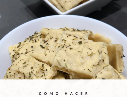 Crackers caseros
