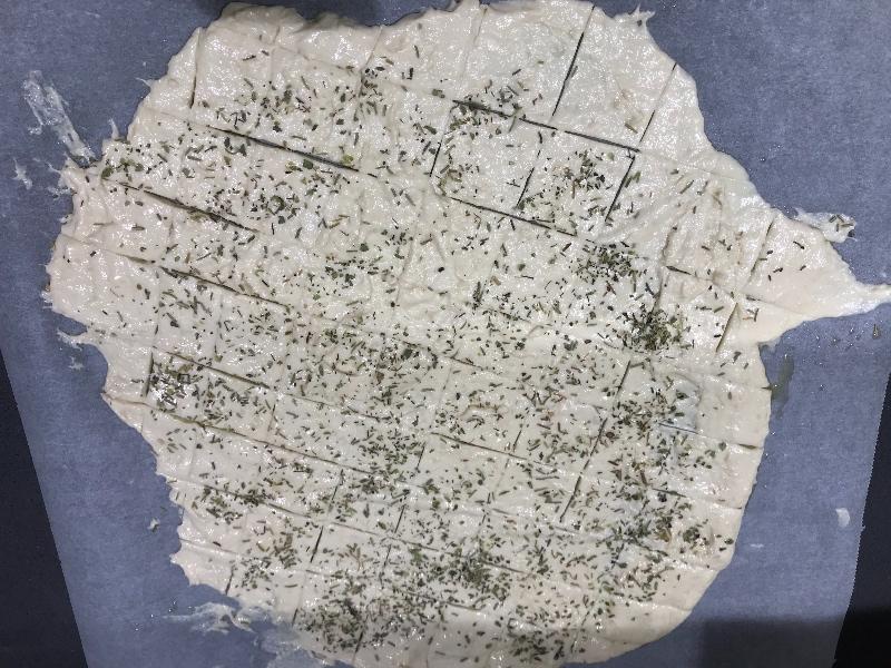 Masa para crackers
