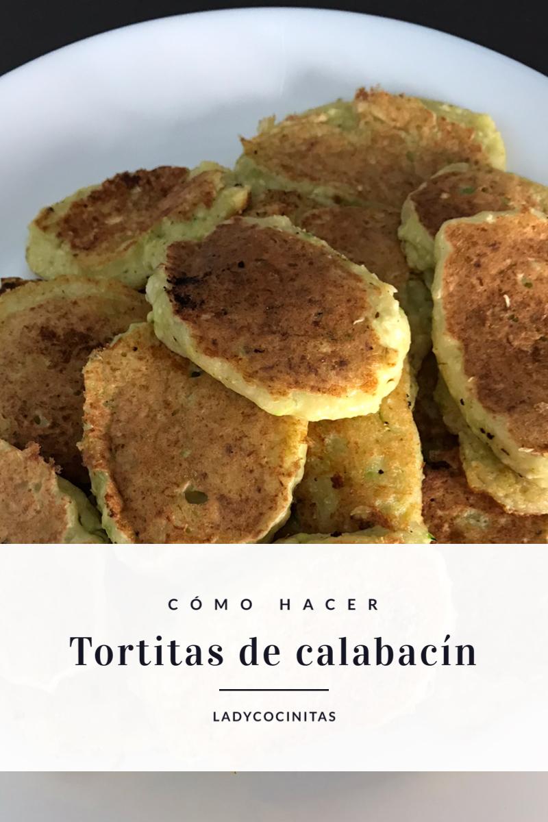 Receta de tortitas de calabacín