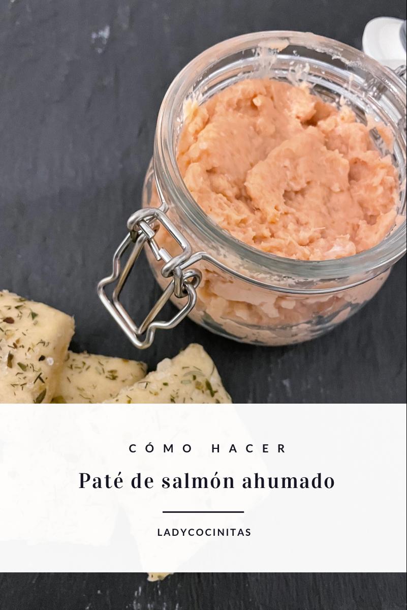 Paté de salmón ahumado casero