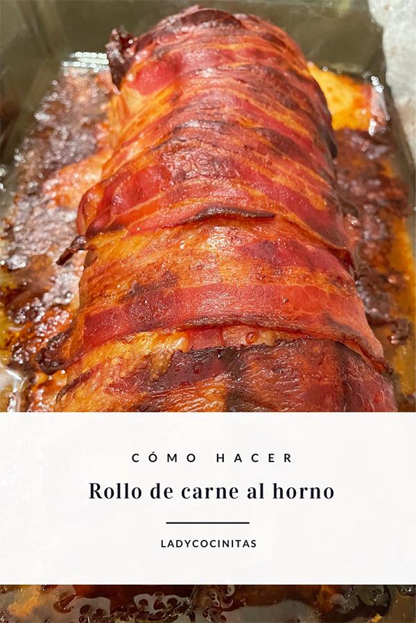 Rollo de carne al horno