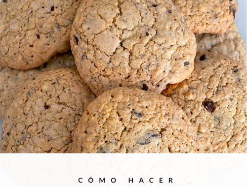 Galletas de chocolate - American chocolate cookies