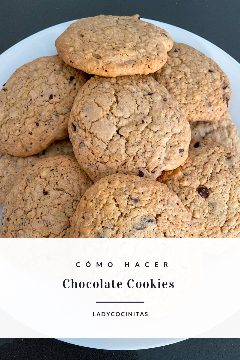 Galletas de chocolate - American chocolate cookies