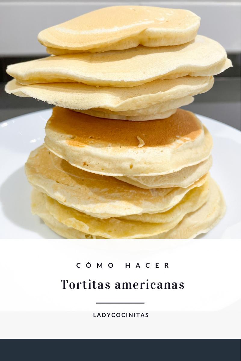 Receta de tortitas americanas - desayuno