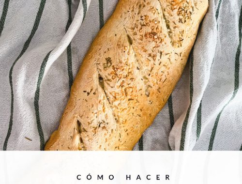 Barra de pan casero